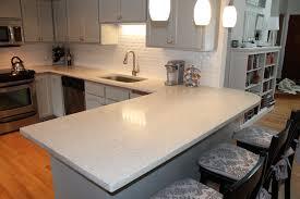 kitchen contemporary kitchen renovation with concrete countertops
