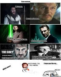 Liam Neeson Meme - liam neeson chuck norris by lorrekvist meme center