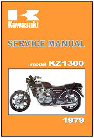 kawasaki workshop manual kz1300 z1300 1979 maintenance service and