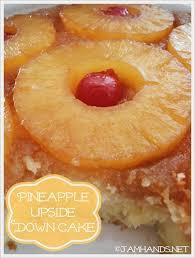 jam hands the best pineapple upside down cake
