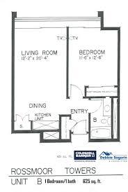 World Floor Plans Plan B Rossmoor Towers Floor Plan 24055 Paseo Del Lago Laguna