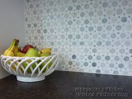 Marble Mosaic Backsplash Tile by Ming Marble Backsplash Sunflower Mosaic In Ming Green Marble