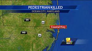Ocean City Maryland Map Police Man Charged After Fatally Hitting Pedestrian In Ocean City