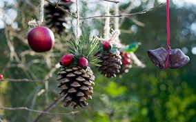 christmas decorating natural materials decorations ideas homemade