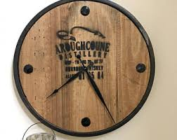 themed clock clock etsy