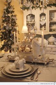 nice christmas table decorations 20 christmas table setting design ideas home design lover