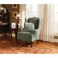 Wing Back Chair Slip Covers Wing Chair Slipcovers You U0027ll Love Wayfair