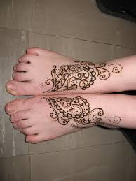 amazing heena foot tattoo designs tattoo collections