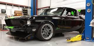 all wheel drive mustang conversion electrocuted 68 mustang gt hits 174 mph on mile