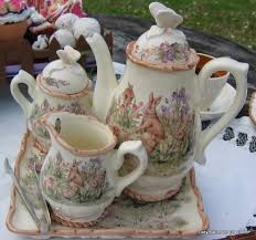 beatrix potter tea set beatrix potter tea set 3 adorable i would to this and
