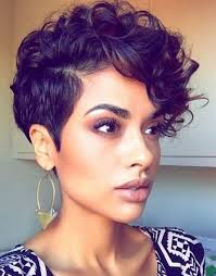 hairstyles for african noses short haircut styles black women short haircut wearing gold