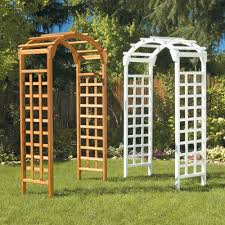 wedding arches home depot arch 84 x 48 in outside wooden garden arbor browns tans