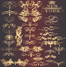 vectors gold ornaments free vector 12 451 free vector for