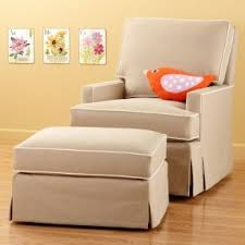 swivel glider chair and ottoman foter