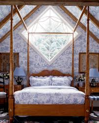 Toile De Jouy Decoration Four Poster Bed Letters From Eurolux