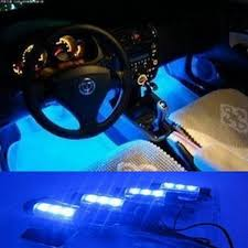 Led Light Strip Car by Amazon Com Wisedeal 4in1 12v Car Auto Interior Led Atmosphere