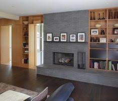 modern family room fireplace hearth ideas extended decorative heart