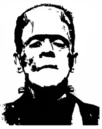 printable frankenstein pumpkin carving pattern template free