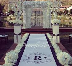 black aisle runner 102 best aisle runners images on weddings wedding