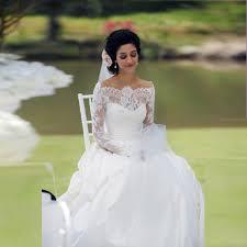 robe de mariã e avec dentelle country style encolure bateau robe de mariée avec dentelle à
