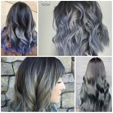 how to blend in gray hair with brown hair gray best hair color ideas trends in 2017 2018