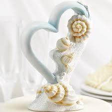 Cake Decorations Beach Theme - beach theme wedding cake toppers