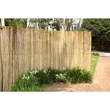rolled bamboo fencing design and ideas of house