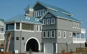 a beautiful and unique beach house off the coast of north carolina