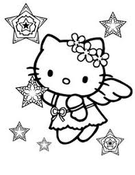 gothic kitty coloring pages coloring kids