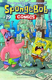 spongebob comics no 19 encyclopedia spongebobia fandom