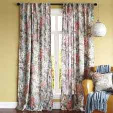 Pier One Drapes Floral Blue Meadow Curtain Pier 1 Imports