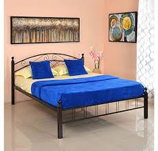 Nilkamal Bedroom Furniture Home By Nilkamal Nimbo Size Bed Without Storage Matte