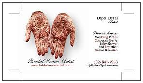 mehndi card 30 original mehndi design visiting card domseksa