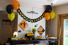 Construction Themed Centerpieces by Baby Lately U2022 3rd Birthday Construction Party