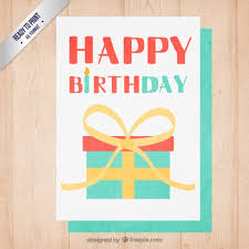 birthday party invitation vector image inspiration of cake and