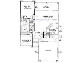 sun city vistoso floor plan claridge model small