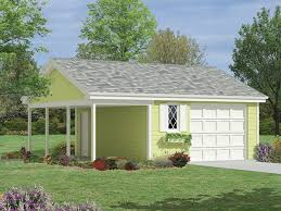 one car garage w porch or garage with car port outside ideas