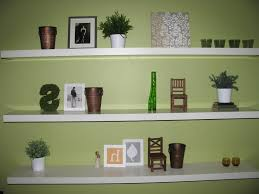 corner wall mount shelves in fascinating color idolza