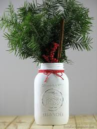 simple christmas mason jar decoration do it all working mom