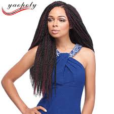 senegalese pre twisted hair new premium 22 black cheap pre braided hair extensions synthetic