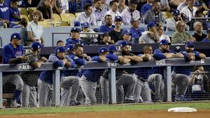Cubs Lose Flag Chicago Cubs Lose 11 1 In Game 5 Of Nlcs Los Angeles Dodgers