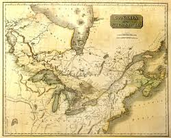 Map Of North America Map by Old Map Of North America U2014 Stock Photo Meteor 2323067