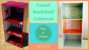 furniture makeover laminate bookshelf youtube