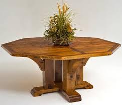 Best Reclaimed Barnwood Furniture Images On Pinterest - Octagon kitchen table