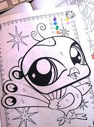 coloring pages lps coloring pages littlest pet shop coloring