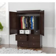 armoire clearance armoires wardrobe closets for less overstock com