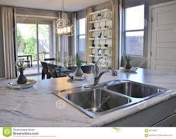 cucina sala pranzo cucina e sala da pranzo moderne immagine stock immagine di