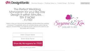 designmantic affiliate create a modern wedding monogram designmantic the design shop