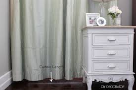 curtain hanging options 4 curtain mistakes to avoid u2013 diy decorator