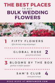 wedding flowers bulk the best bulk wedding flowers suppliers mrs fancee